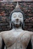Πρόσωπα ενός μεγάλα του Βούδα χαμόγελου. Στοκ Εικόνα