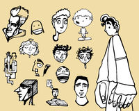 Πρόσωπα και οργανισμοί misc Στοκ Εικόνες