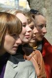 πρόσωπα τέσσερα Στοκ Εικόνες