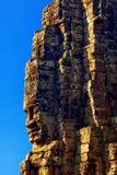 Πρόσωπα του αρχαίου ναού Bayon σε Angkor Wat Στοκ φωτογραφίες με δικαίωμα ελεύθερης χρήσης