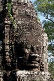 Πρόσωπα του Βούδα του ναού Bayon σε Angkor Wat Καμπότζη Στοκ εικόνα με δικαίωμα ελεύθερης χρήσης