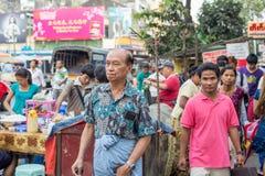 Πρόσωπα του Μιανμάρ Στοκ εικόνα με δικαίωμα ελεύθερης χρήσης
