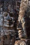 Πρόσωπα του ναού Bayon, Angkor, Καμπότζη Στοκ φωτογραφία με δικαίωμα ελεύθερης χρήσης