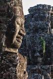 Πρόσωπα του ναού Bayon, Angkor, Καμπότζη Στοκ Εικόνες