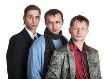 πρόσωπα τρία Στοκ Εικόνα