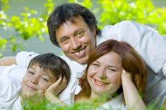 πρόσωπα τρία Στοκ φωτογραφία με δικαίωμα ελεύθερης χρήσης