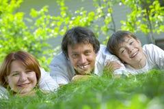 πρόσωπα τρία Στοκ Φωτογραφία