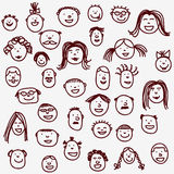 πρόσωπα Στοκ φωτογραφία με δικαίωμα ελεύθερης χρήσης