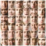 πρόσωπα Στοκ Φωτογραφίες