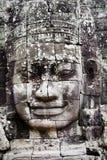 πρόσωπα angkor που γίνονται την πέ Στοκ εικόνες με δικαίωμα ελεύθερης χρήσης