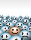 Πρόσωπα Smiley Στοκ Εικόνα
