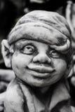 Πρόσωπο αγαλμάτων γλυπτών γύψου Στοκ Εικόνες