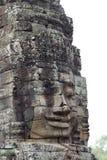 Πρόσωπο αγαλμάτων Angkor Στοκ εικόνα με δικαίωμα ελεύθερης χρήσης