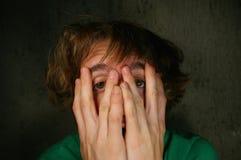 πρόσωπο ανόητο Στοκ φωτογραφία με δικαίωμα ελεύθερης χρήσης