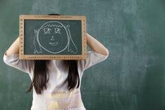 πρόσωπο αστείο Στοκ φωτογραφία με δικαίωμα ελεύθερης χρήσης