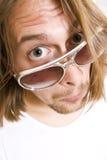 πρόσωπο αστείο Στοκ Εικόνα