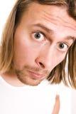 πρόσωπο αστείο Στοκ Φωτογραφία