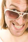 πρόσωπο αστείο Στοκ Εικόνες