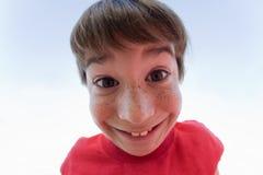 πρόσωπο αστείο Στοκ Φωτογραφίες