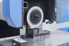 Πρόσωπο αλέθοντας μηχανών στην κορυφή στοκ φωτογραφία με δικαίωμα ελεύθερης χρήσης