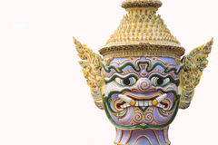 πρόσωπο γιγαντιαίο Wat Pra Kaew Ταϊλάνδη Στοκ φωτογραφία με δικαίωμα ελεύθερης χρήσης
