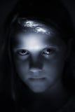 πρόσωπο γοτθικό Στοκ φωτογραφία με δικαίωμα ελεύθερης χρήσης
