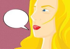 Πρόσωπο γυναίκας ελεύθερη απεικόνιση δικαιώματος