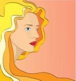 Πρόσωπο γυναίκας στοκ εικόνα με δικαίωμα ελεύθερης χρήσης
