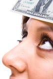 πρόσωπο δολαρίων λογαρι& Στοκ φωτογραφία με δικαίωμα ελεύθερης χρήσης