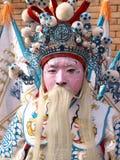 πρόσωπο δράματος που χρωματίζεται Στοκ Εικόνες