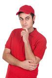 πρόσωπο εμπόρων σκεπτικό Στοκ Εικόνες