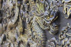Πρόσωπο ενός τόσου πολύ αγάλματος του Βούδα Στοκ Εικόνες