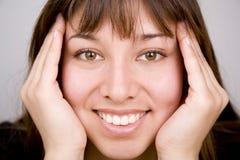 πρόσωπο ευτυχές στοκ εικόνες με δικαίωμα ελεύθερης χρήσης
