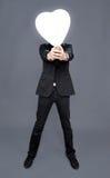 Πρόσωπο καρδιών μπαλονιών Στοκ εικόνα με δικαίωμα ελεύθερης χρήσης
