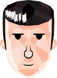 Πρόσωπο κινούμενων σχεδίων Στοκ εικόνα με δικαίωμα ελεύθερης χρήσης