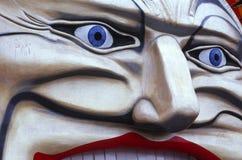 πρόσωπο κλόουν Στοκ εικόνες με δικαίωμα ελεύθερης χρήσης