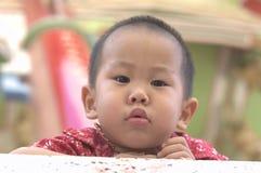 Πρόσωπο μικρών παιδιών Στοκ Εικόνες