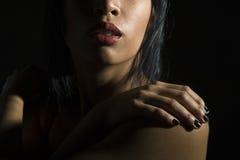πρόσωπο μισό Στοκ φωτογραφία με δικαίωμα ελεύθερης χρήσης