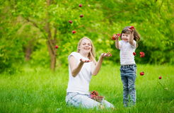 Πρόσωπο, μύγα φραουλών, διασκέδαση, στοκ φωτογραφία