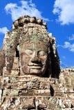 Πρόσωπο ναών Bayon Wat σε Angkor, Καμπότζη Στοκ εικόνα με δικαίωμα ελεύθερης χρήσης