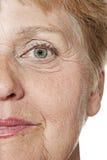 πρόσωπο παλαιό Στοκ Εικόνες