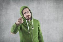 Πρόσωπο που δείχνει σε σας Στοκ εικόνες με δικαίωμα ελεύθερης χρήσης