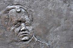 Πρόσωπο που χαράζεται στην πέτρα στοκ φωτογραφία με δικαίωμα ελεύθερης χρήσης