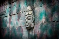 Πρόσωπο στον τοίχο Στοκ εικόνες με δικαίωμα ελεύθερης χρήσης