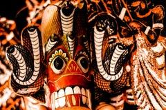 Πρόσωπο τεράτων της Σρι Λάνκα Στοκ Εικόνες
