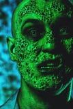 Πρόσωπο της διανοητηκής διαταραχής στοκ φωτογραφία με δικαίωμα ελεύθερης χρήσης