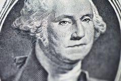 Πρόσωπο της δολάριο-Ουάσιγκτον Στοκ Εικόνα