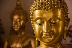 πρόσωπο του Βούδα Ο χρυσός Βούδας στο ναό Poramai Yigawat στο αριθ. Στοκ φωτογραφίες με δικαίωμα ελεύθερης χρήσης