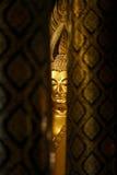 Πρόσωπο του Βούδα χρυσό Στοκ Φωτογραφίες