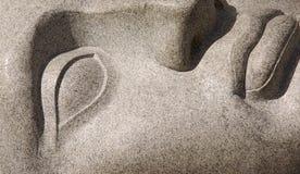 πρόσωπο του Βούδα Στοκ Εικόνες